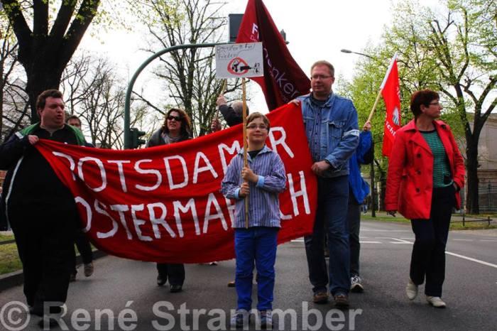 13. Ostermarsch Potsdam, 12. April 2014, Fotograf: René Strammber, Quelle: http://goo.gl/m89uge