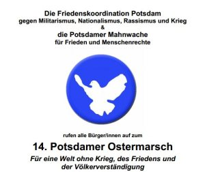 28.03.2015 - 14. Potsdamer Ostermarsch