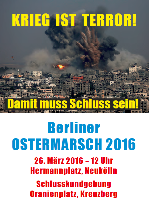 Friko Berlin Ostermarsch 2016